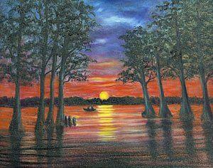 Painting - Reelfoot Lake by Randol Burns