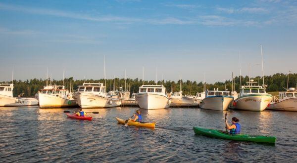 Canoeing, national park, Kouchibouguac, New Brunswick Canada