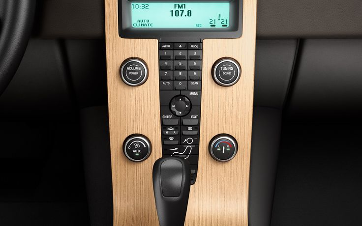 Volvo C30 Interior With Wood Trim Design Pinterest