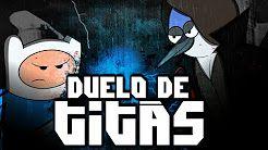 Finn VS. Mordecai | Duelo de Titãs - YouTube