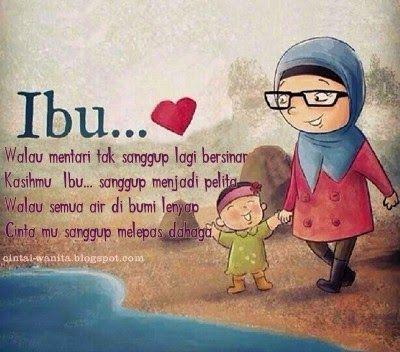 Cinta seorang ibu sepanjang masa tak terbatas sampai anak anakmu besar..I mom