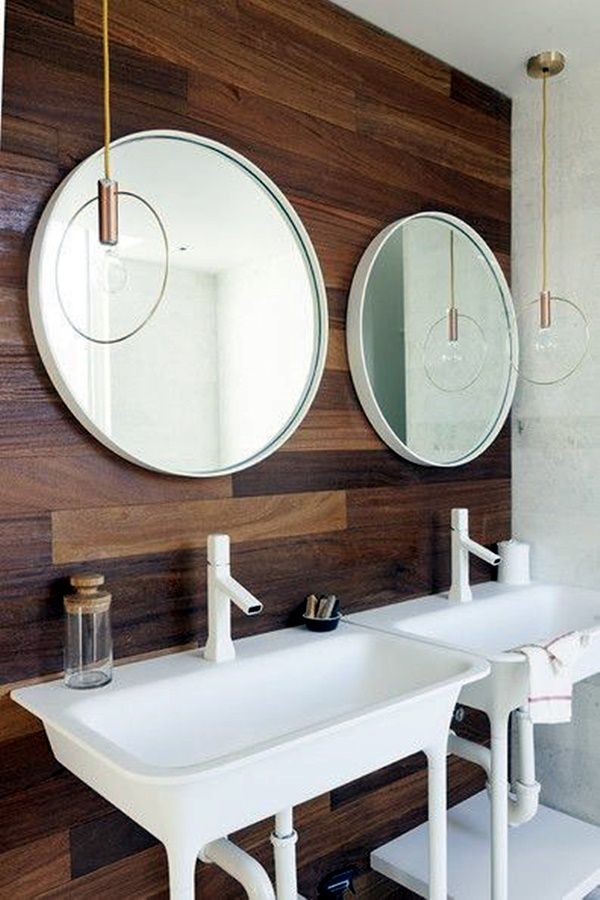 40 Refreshing Bathroom Mirror Designs