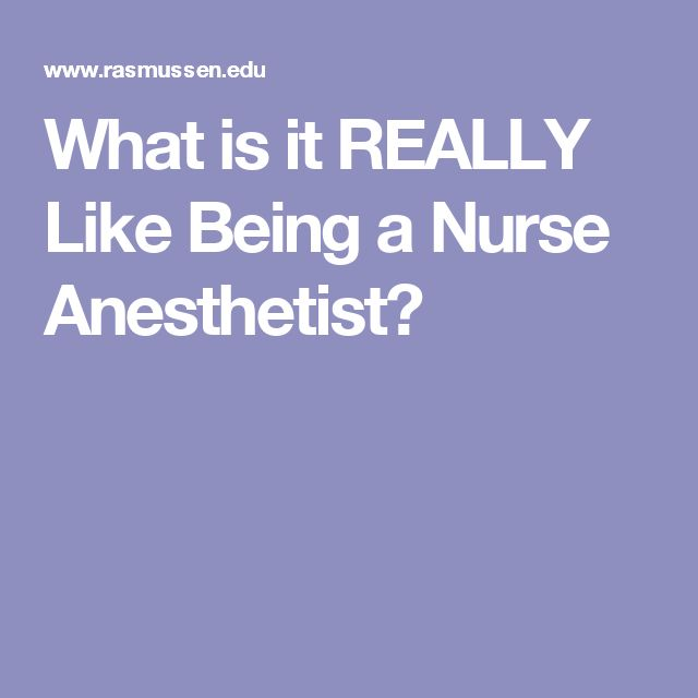 becoming a nurse anesthetist If you're looking for a way to take your nursing career to the next level in florida,  consider becoming a certified registered nurse anesthetist.