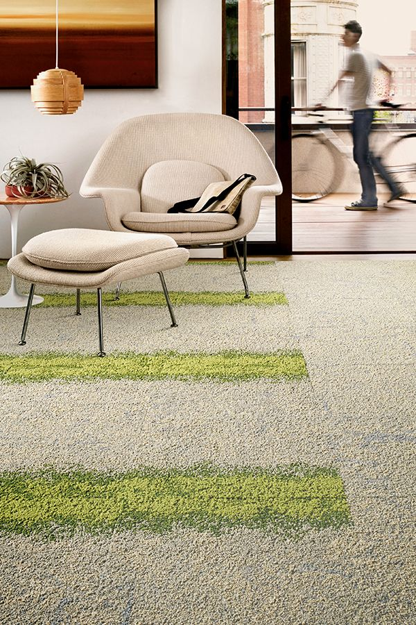 Earthy neutrals have been infused with bits of color – reminiscent of moss-covered cliffs or a sea-kissed shore, in our Urban Nature style.