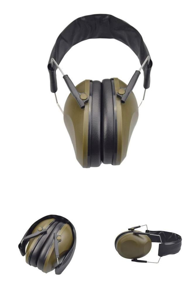 Noise Cancelling Earmuffs Safety Hearing Protection Headphones Hunting Shooting #XAegis