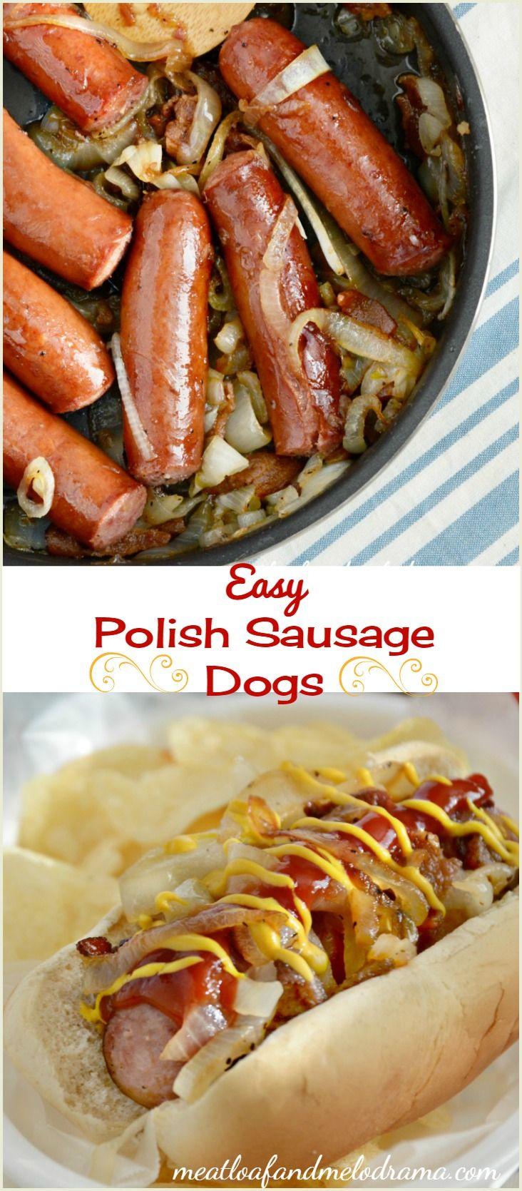 easy Polish sausage dogs