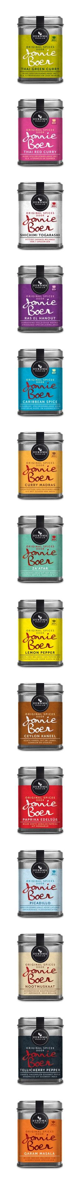 The Jonnie Boer packaging.