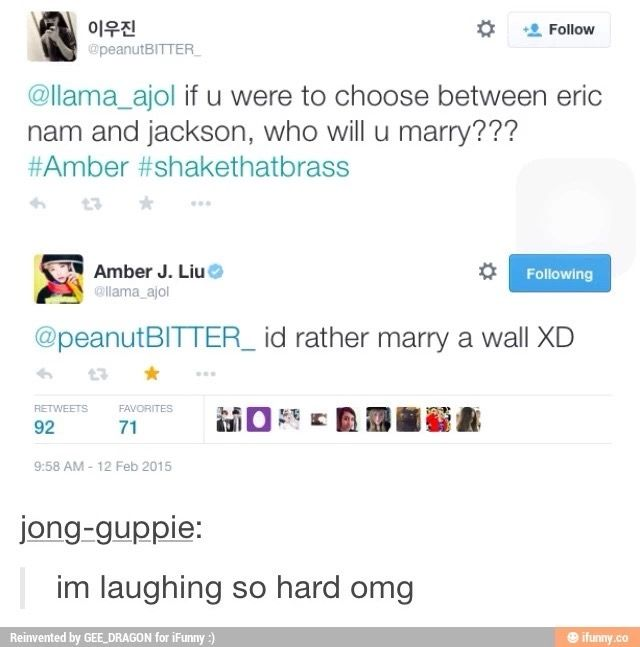 Hahahaha, no one wants those retards as husbands, but I would love having them as best friends :D