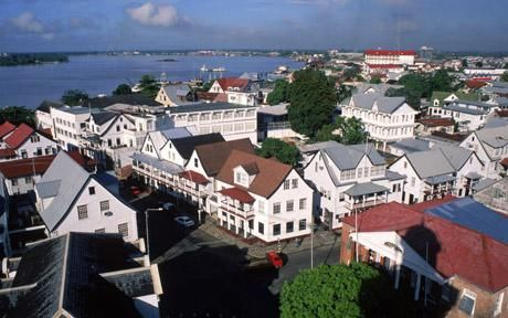 The stories I heard, growing up, about Suriname: Paramaribo