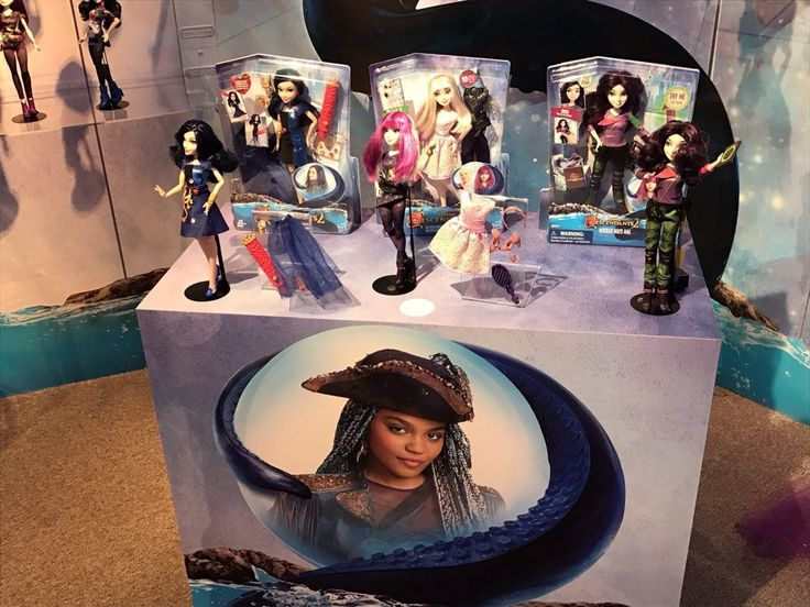 Oh yeah descendants 2 dolls are shipping this week get ready to be rotten to the core again