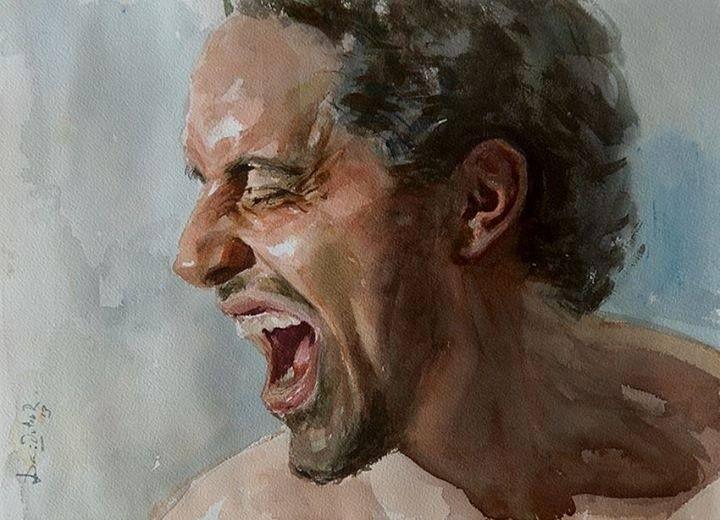 Watercolor by Dario Ortiz Robledo