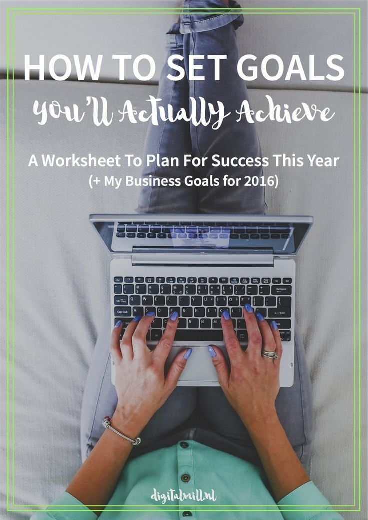 The Secret To Setting Goals You 39 Ll Actually Achieve