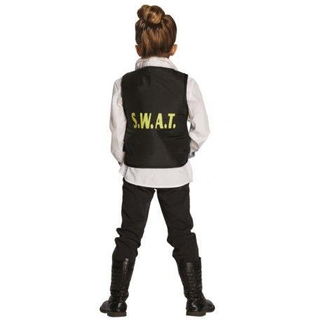 Déguisement agent SWAT enfant