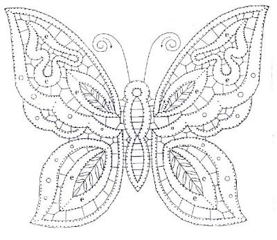 Patrones de mariposas