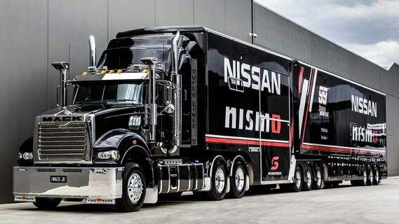 Nice Australian Mack truck #V8SC #Nissan_MSport #NISMO