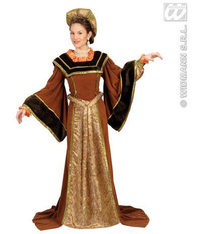 Disfraz de Reina Medieval El disfraz incluye: Vestido, cinturon y sombrero    Composición: Berbeton, lame estampado, saten y dacha  http://www.disfracessimon.com/disfraz-medieval-complementos/347-disfraz-reina-medieval-p-347.html