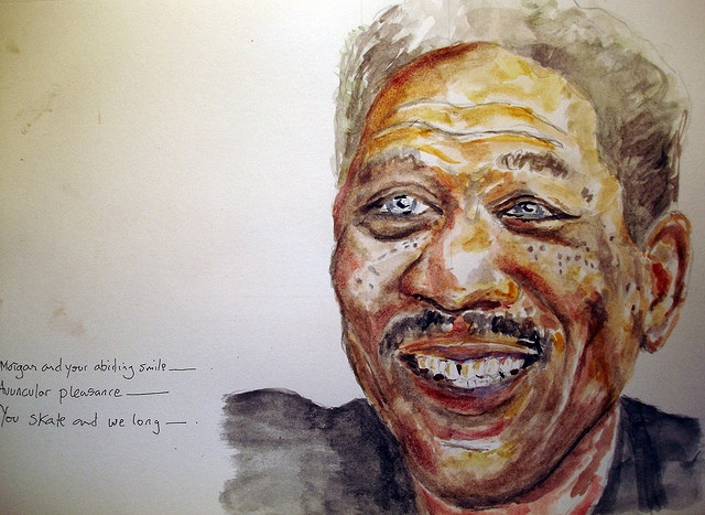 Morgan Freeman...