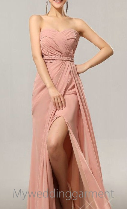 Sexy Sweetheart  Bridesmaid Dress Prom Dress Evening Dress Gown Wedding Party Dress. $125.00, via Etsy.