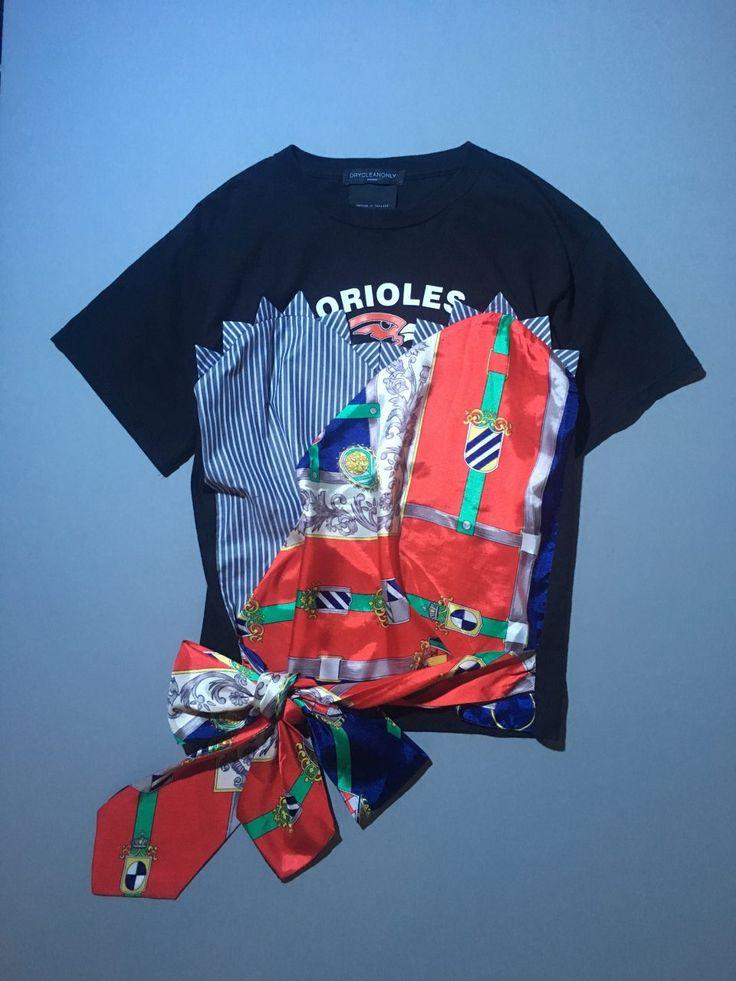 スタイリスト早川すみれさんの今月のひとめぼれ-〈ドライ クリーン オンリー〉のリメイクTシャツ   GINZA   FASHION