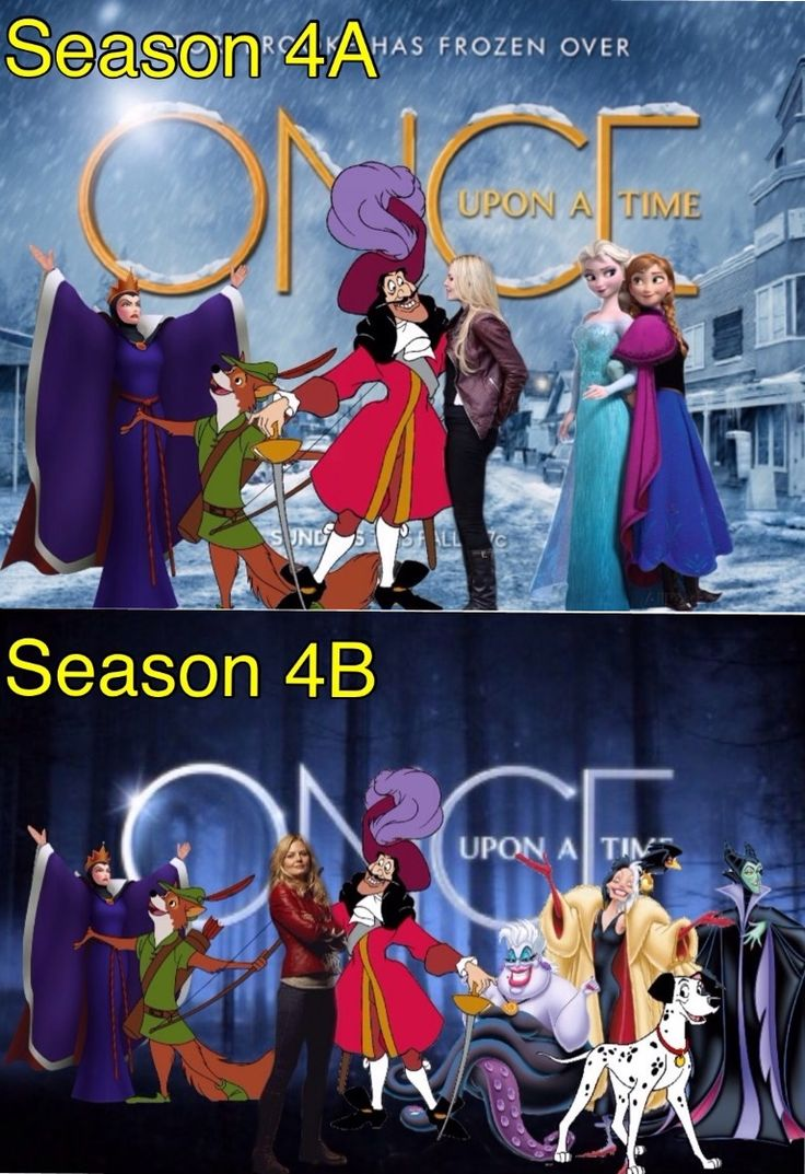 Season 4 Honestly I'm glad to be rid of Frozen and I'm excited for some actual classics with the good old Once twists that 4a really lacked
