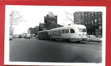 DC Transit PCCs.: Transitional Streetcars