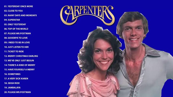 Top 50 Greatest Carpenters Songs | The Carpenter Greatest Hits [ Full Al...