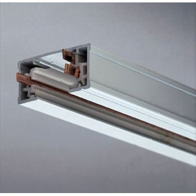 PLC Lighting One Circuit Track Finish / Width: Polished Brass / 24""