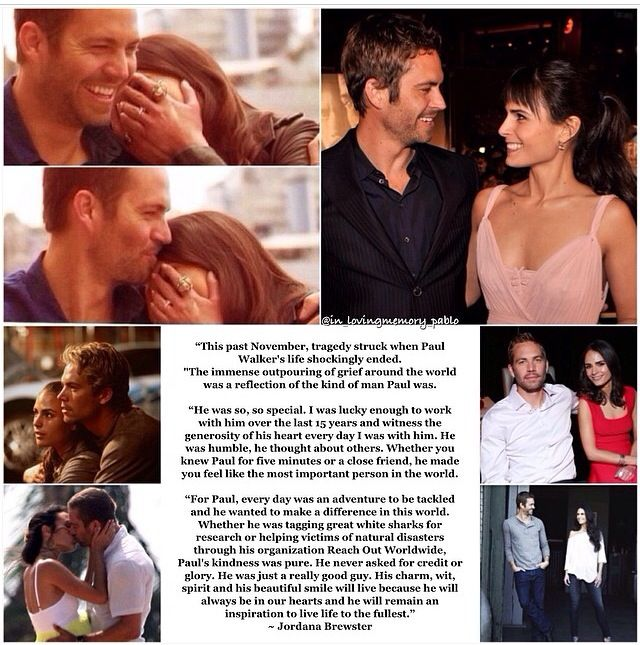 Paul Walker MTV awards tribute by Jordana Brewster ( inlovingmemorypablo ig)