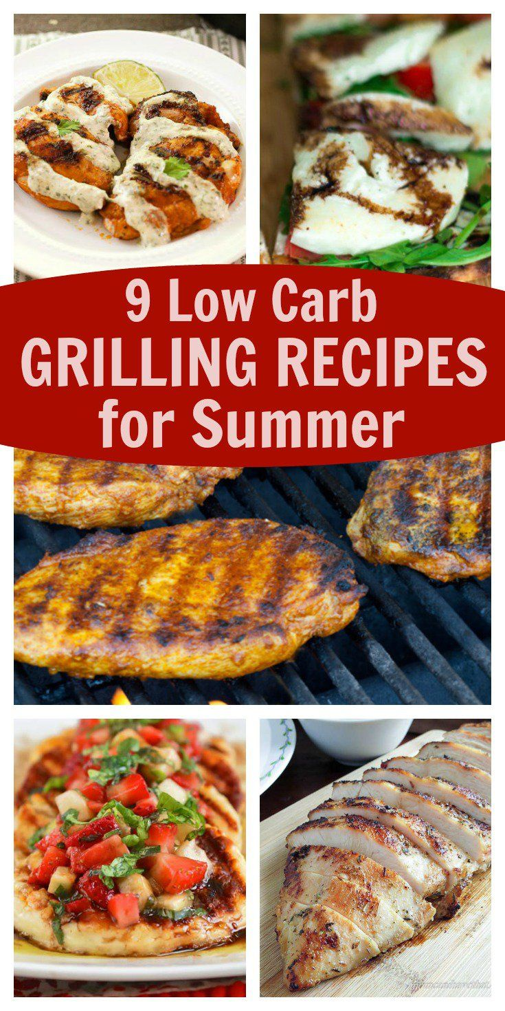 Low Carb Grilling Recipes for Summer