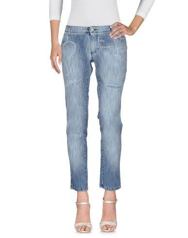 ONOMATO! Women's Denim pants Blue 2 US