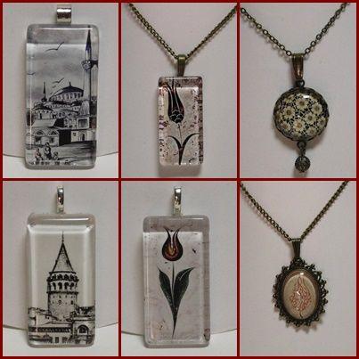 Galata torony, mecsetek, Tünel villamos, Istanbul nevezetességei medálokon, gyűrűkön. Istanbul ihlette egyedi kézműves ékszereink aktuális kínálatát itt találod: https://www.facebook.com/Melda-Alkot-1661800240703962/photos/?tab=album&album_id=1661809190703067
