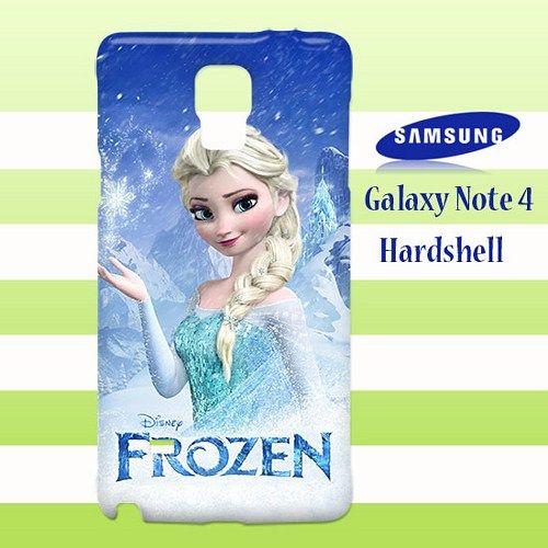 Queen Elsa Frozen Samsung Galaxy Note 4 Case Cover Hardshell