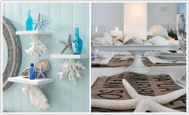 Beach themed decorative accessories northern california for Coastal beach home decor