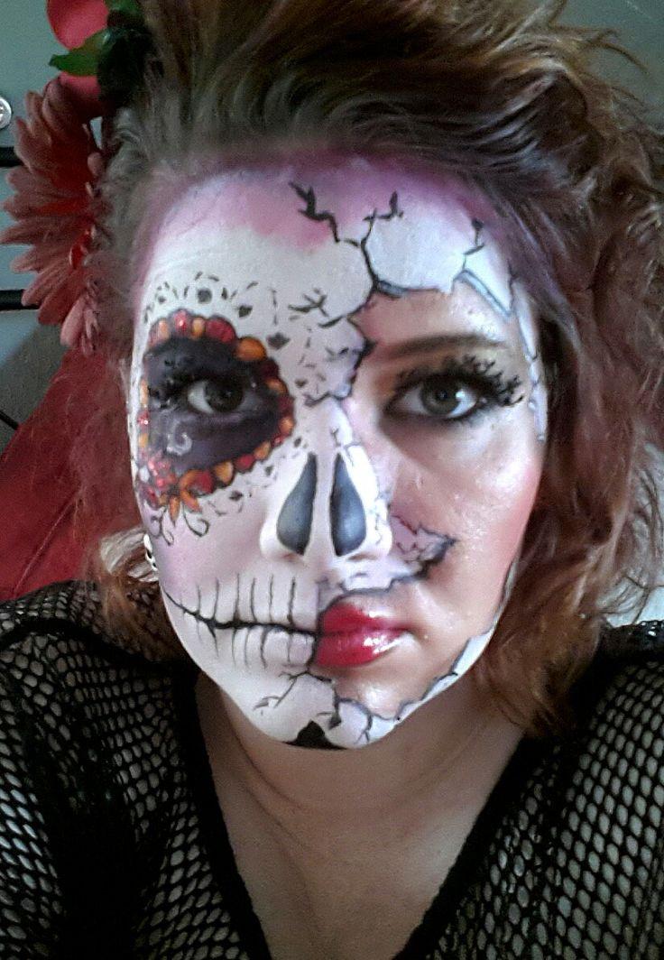 Mexicanische Totenmaske