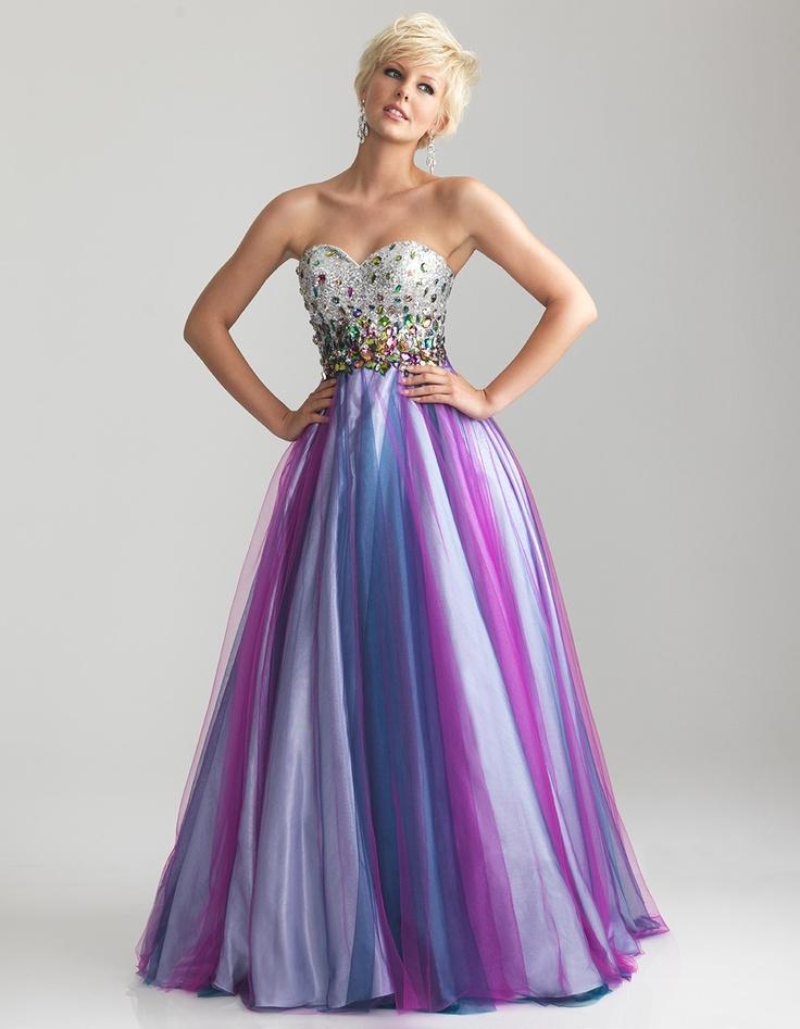 Mejores 9 imágenes de Dresses en Pinterest | Vestido de baile de ...