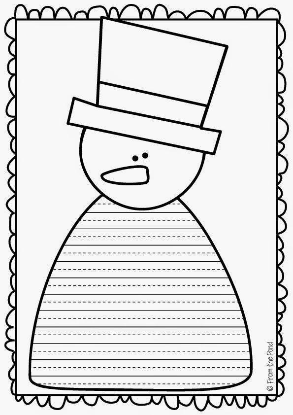 513 best sněhuláci images on Pinterest Snowman, Winter and Crafts - snowman template
