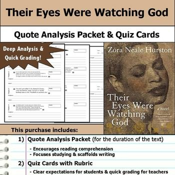 a literary analysis of the heroine in their eyes were watching god by zora neale hurston Brings together for the first time all of the best writing of zora neale hurston,  in their eyes were watching god  recognized as america's literary.