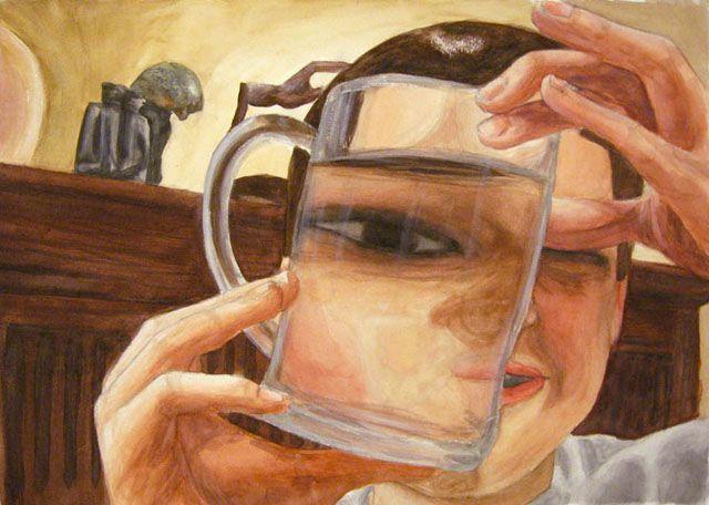 distorted portrait: ridgeartgallery.com