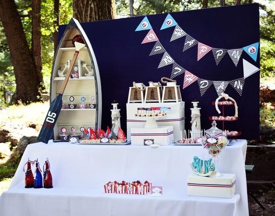 My Little Party Blog. Fiesta Marineros.