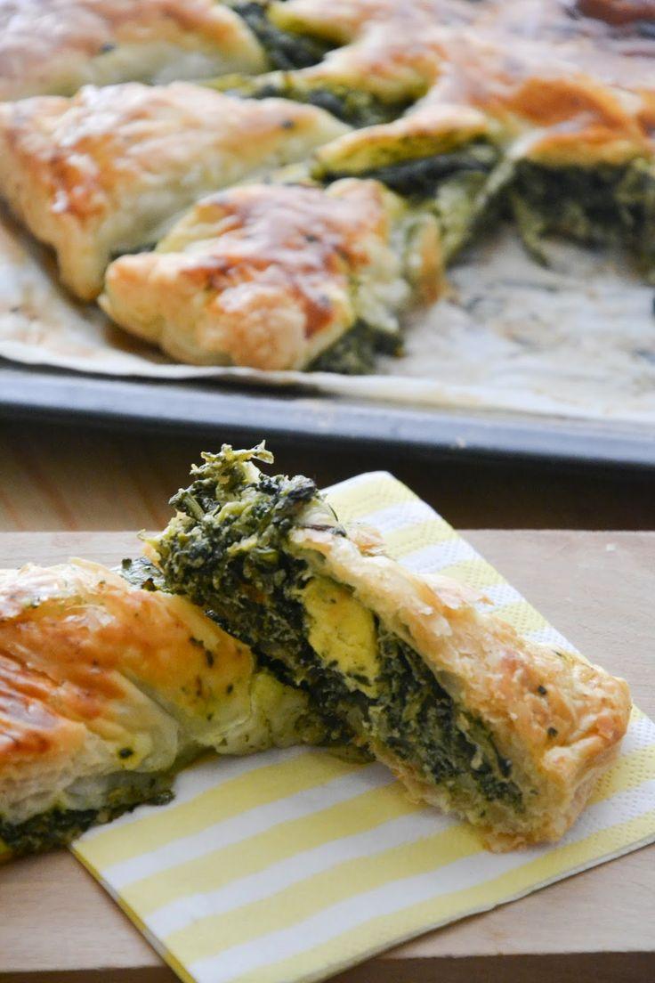 A Pranzo da Pit: Speciale Pasqua: Torta girasole con erbette, formaggio fresco e uova di quaglia