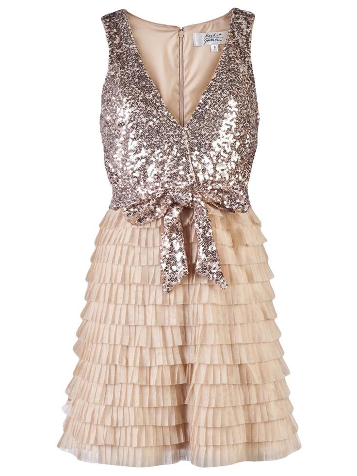 !!!: Sparkle Dresses, Holidays Parties, Ruffles Skirts, Autumn Parties, Bridesmaid Dresses, Cute Dresses, Parties Dresses, Tiered Dresses, Badgley Mischka