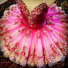 Hot pink tutu www.theworlddances.com/ #costumes #tutu #dance