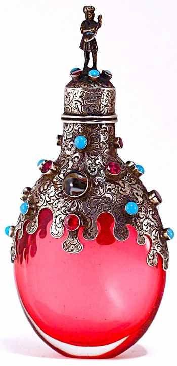 Austrian - HungarianBeautiful Bottle, Antiques Perfume Bottle, Perfume Bottles, Bulbs, Glasses Perfume Bottle, Art Deco, Vintage Art, Bottle Design, Vintage Perfume Bottle