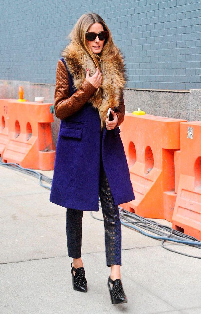 Las mejores imágenes de la NYFW otoño-invierno 2014 STREET STYLE. Olivia Palermo
