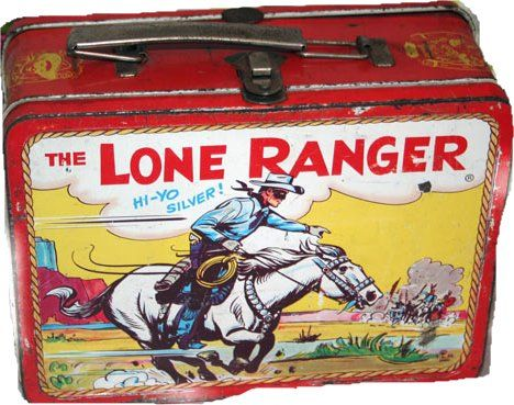 Vintage Lunch Boxes | Collecting Lone Ranger Memorabilia will keep the sounds Of Hi Ho ...