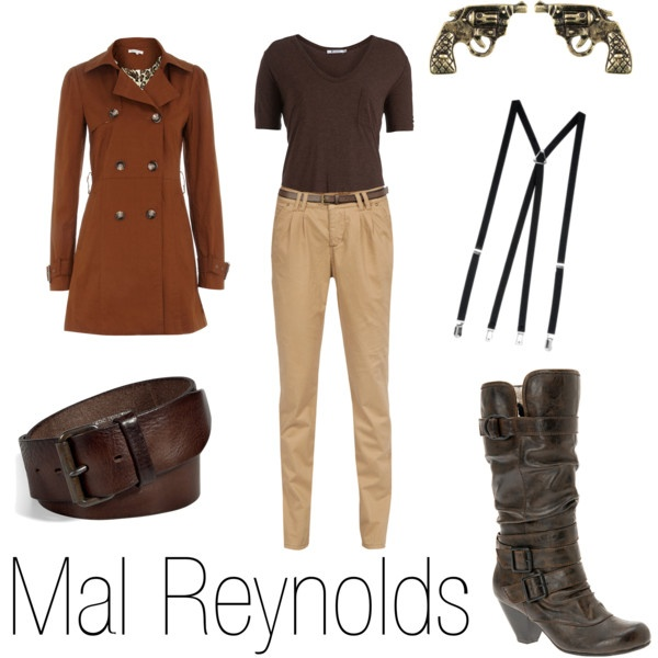 So if you're a lady who wants to dress like a Browncoat, wouldn't this be just the ensemble? Shiny!