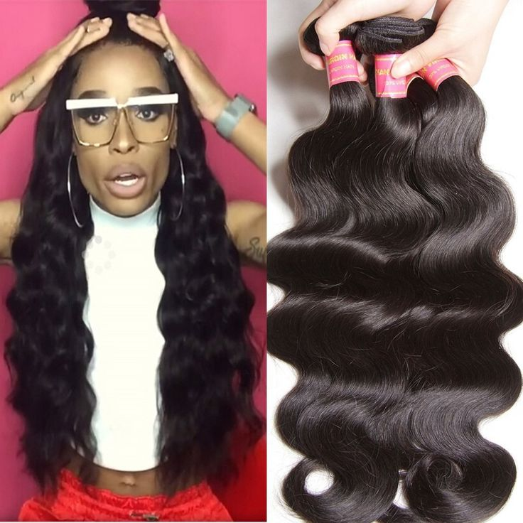 Longqi Hair Peruvian Hair Bundles Body Wave 3 Bundles 100% Unprocessed Virgin Whole Human Hair Weave Natural Color (16 18 20inch) -- This is an Amazon Affiliate link. Click on the image for additional details.