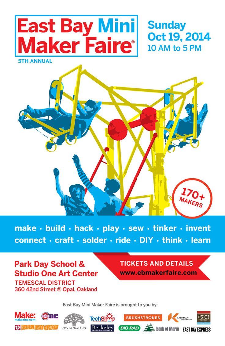 The 5th Annual East Bay Mini Maker Faire, A Celebration of Local Maker Culture in Oakland, California