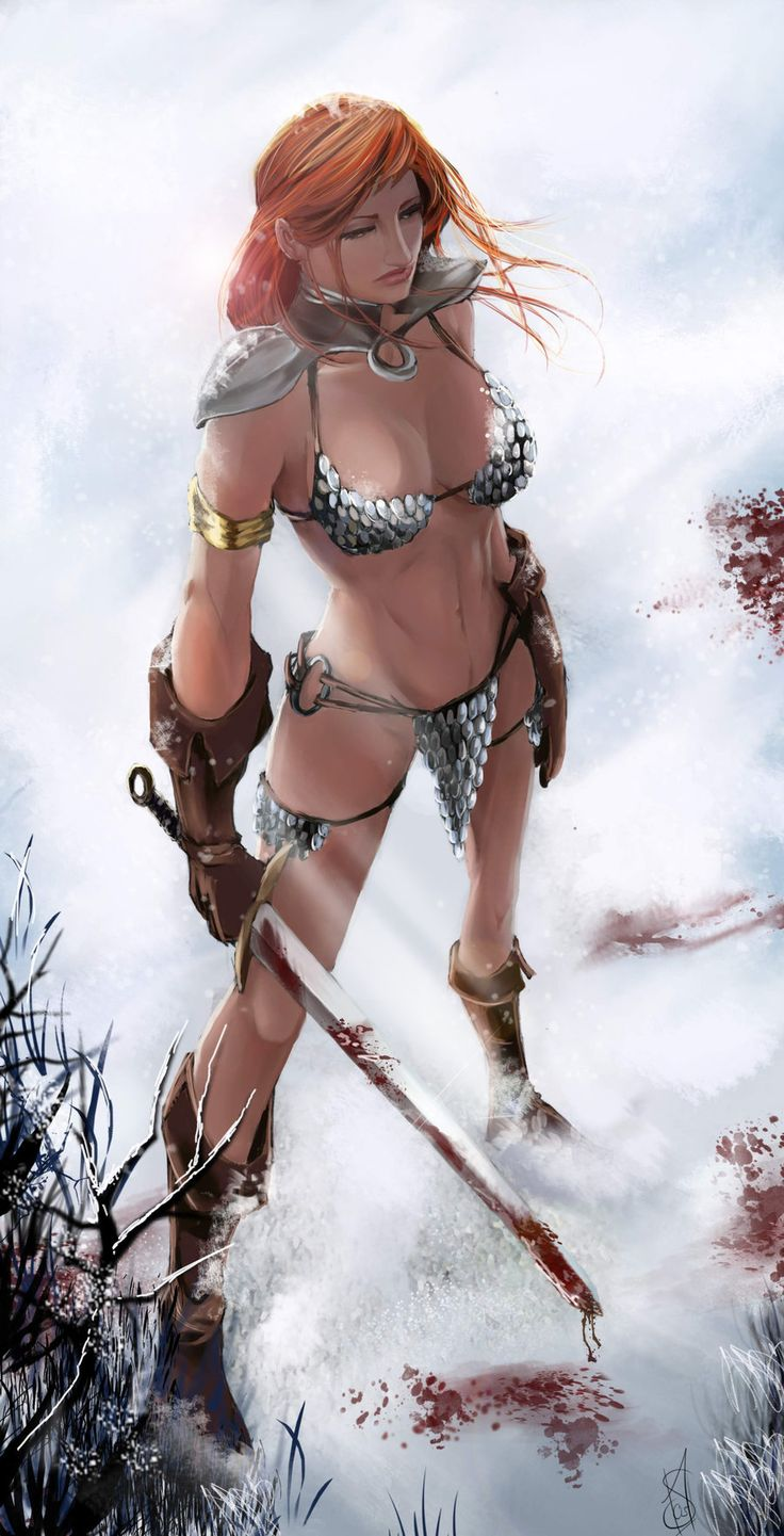 phrrmp:  Red Sonja - The Things I've Done by Forty-Fathoms
