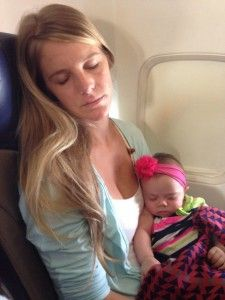 Ultimate Guide to Flying with a Newborn | Traveling 9 to 5